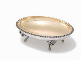 Ball Black & Co. Sterling Silver Footed Dish, Ca. 1860