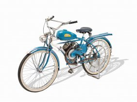 American Whizzer Special Motorbike, Usa, Ca. 1948