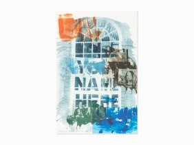 Robert Rauschenberg, 'banco' From Ground Rules,