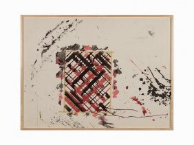 Ed Moses, Untitled, Work On Paper, Ca. 1990