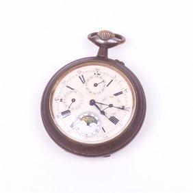 Pocket Watch With Calendar