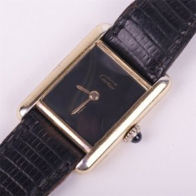 "Ladies Mechanical Wristwatch ""cartier""."