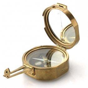 Stanley London Brass Natural Sine Compass.
