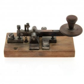 Antique Morse Code Machine.