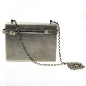 Rodo Retro Metal Evening Purse.