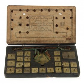 Wilhelm Forsthoff Coin Scale Solingen Late 18th Century