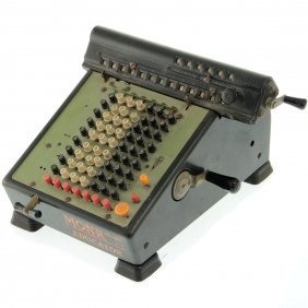 Monroe Educator Calculating Machine.