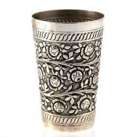 Silver Beaker Cup.