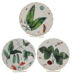 Group Of Three Chelsea Plates