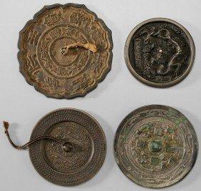 Four Bronze Mirrors