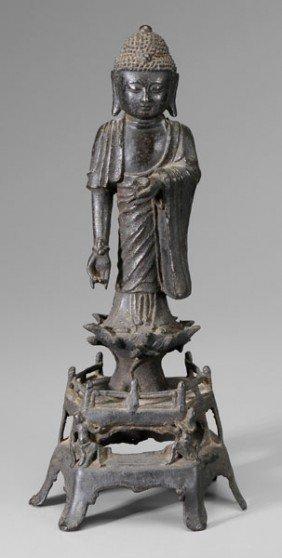 Bronze Figure Of The Medicine Buddha