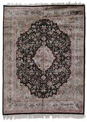 Kashan Silk Carpet