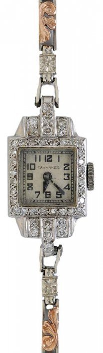 Ladies Diamond Dress Wrist Watch