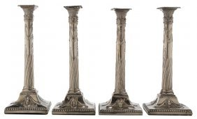 Set Of Four George Iii Silver