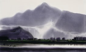 Shiy De-jinn, Foggy Landscape Of Puli