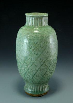 A Longquan Porcelain Vase