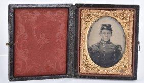 Civil War 1/9 Plate Confederate, 5th Georgia