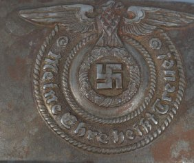 Nazi German Ss Belt Buckle