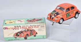 Japan Battery Op Volkswagon Love Beetle W/ Box