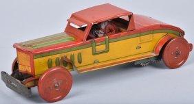 Nonpareil Tin Windup Roadster