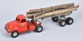 Tonka Log Truck & Trailer