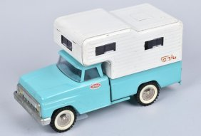 Tonka Pickup Truck With Camper