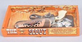 The Scout Cap Gun & Holster Moc