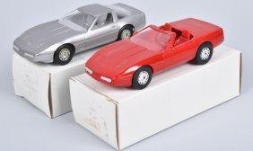 1984 & 1987 Chevy Corvette Promo Cars