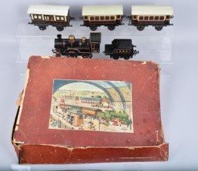 Bing 1 Gauge King Edward Vii Train Set W/ Box