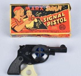Marx Signal Siren Pistol W/ Box