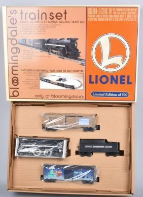Lionel 027 Bloomingdales Train Set 1of 500