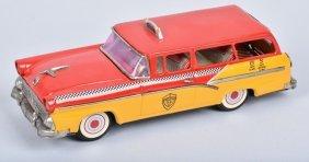 Bandai 1956 Ford Wagon Yellow Taxi