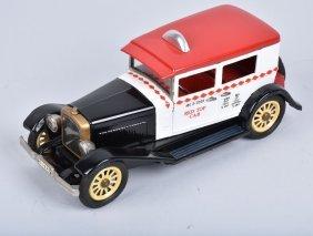 Sss Japan Tin Friction 1925 Nash Red Top Cab