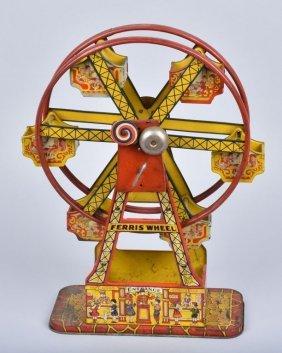 Chein Tin Windup Ferris Wheel