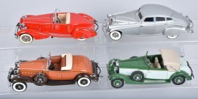 4- Danbury Mint Antique Cars