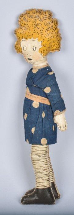 Early Little Orphan Annie Oil Rag Doll