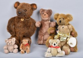 Lot Of Collectible Teddy Bears