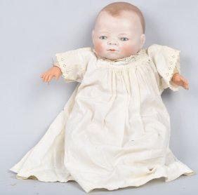 Grace Putnam Bye Lo Bisque Baby Doll, Vintage