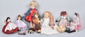 Lot Of 12 Vintage Dolls, Ideal, Alexander & More