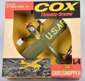 Cox Thimble-drone Grasshopper W/box
