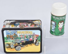 Munsters Lunch Box With Thermos