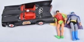 Mego Batmobile With Batman & Robin