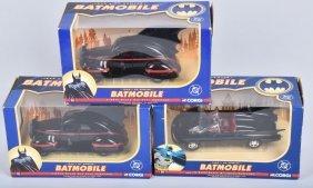 3- Corgi Batmobile Mib