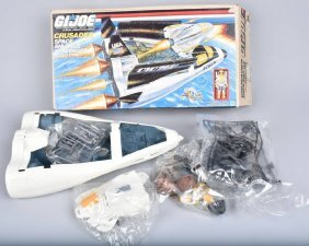 "Gi Joe 3 3/4"" Crusader Space Shuttle Mib"