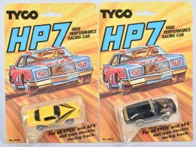 2-80s Tyco Hp7 Cars Camaro & Pontiac Moc