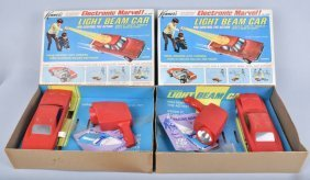 Lot Of 2 Kenners Light Beam 1969 Charger
