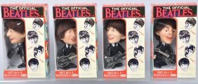 4 1964 Remco Beatles Dolls In Repro Boxes