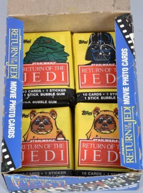 Topps Return Of The Jedi Trading Cards