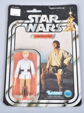 1977 Star Wars 12 Back B Luke Skywalker Moc