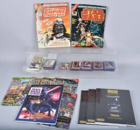 Star Wars Trading Cards & Magazines